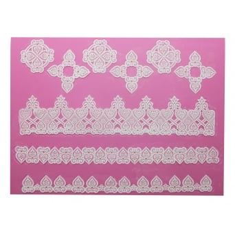 Juliet - 3D Large Cake Lace Mat