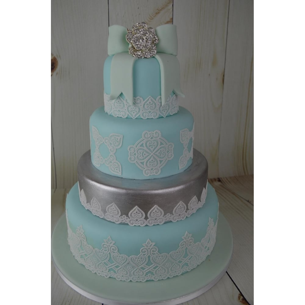 Cake Lace Juliet Design Ready Made Cake Lace Pearl