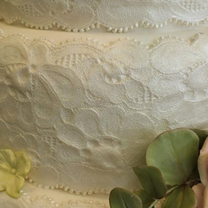 Karen Davies Amy Vintage Lace Border Mould