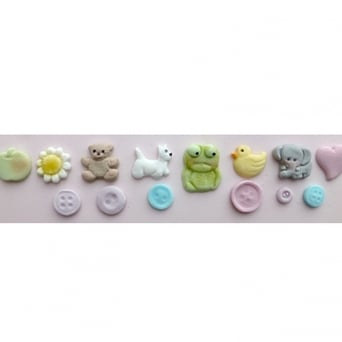 Baby Button Mould