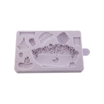 Baby In Bath Mould