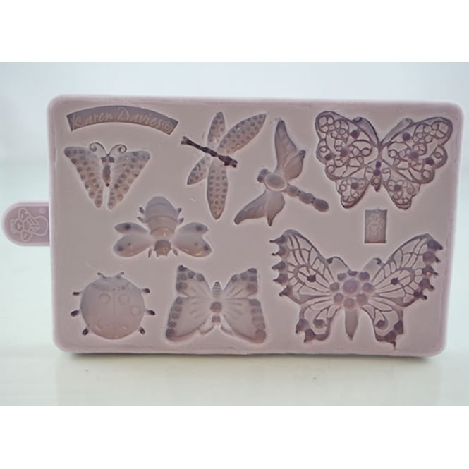 Karen Davies Butterfly And Insect Brooch Mould