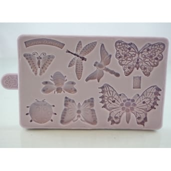 Butterfly And Insect Brooch Mould