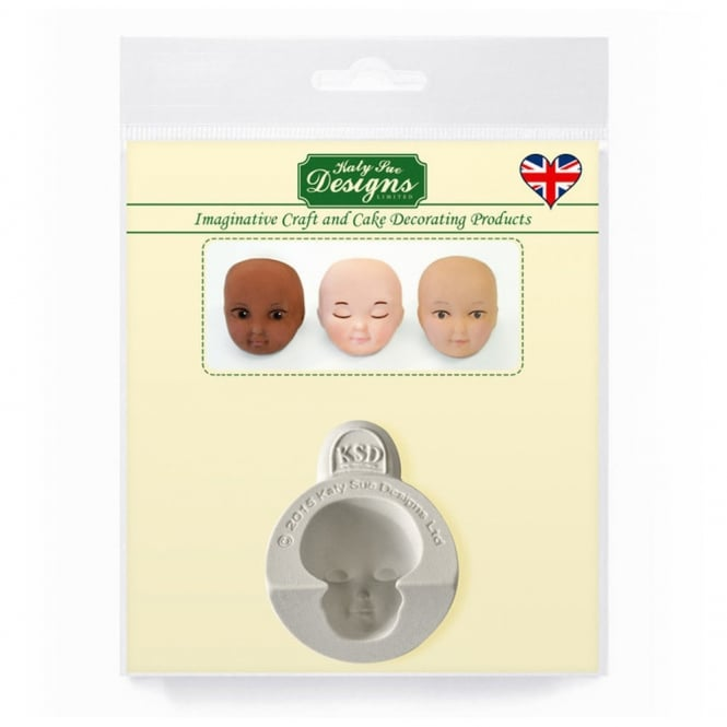 Katy Sue Designs 1 Inch Head Set A Silicone Mould