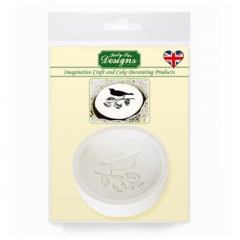 Bird Cupcake Topper Mould