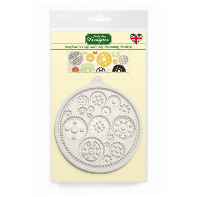 Katy Sue Designs Cogs And Wheels Mould
