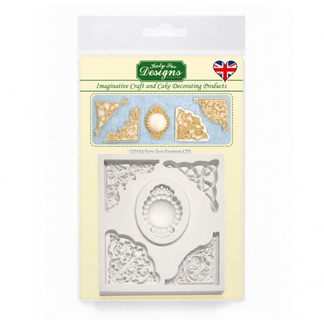 Katy Sue Designs Decorative Corner Collection Mould
