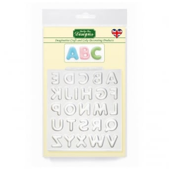 Domed Alphabet Upper Case Designer Mat Mould