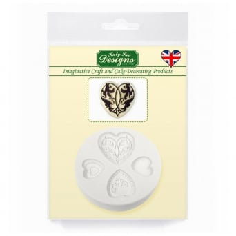 Elegant Hearts Mould