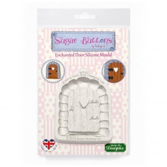Enchanted Door Mould - Sugar Buttons