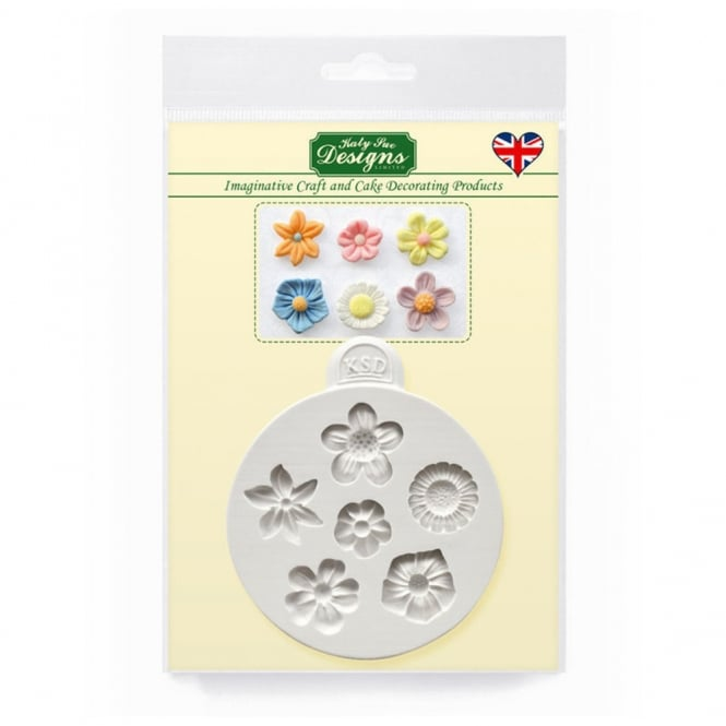 Katy Sue Designs Flowers Mould