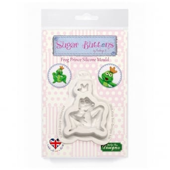 Frog Prince Mould - Sugar Buttons