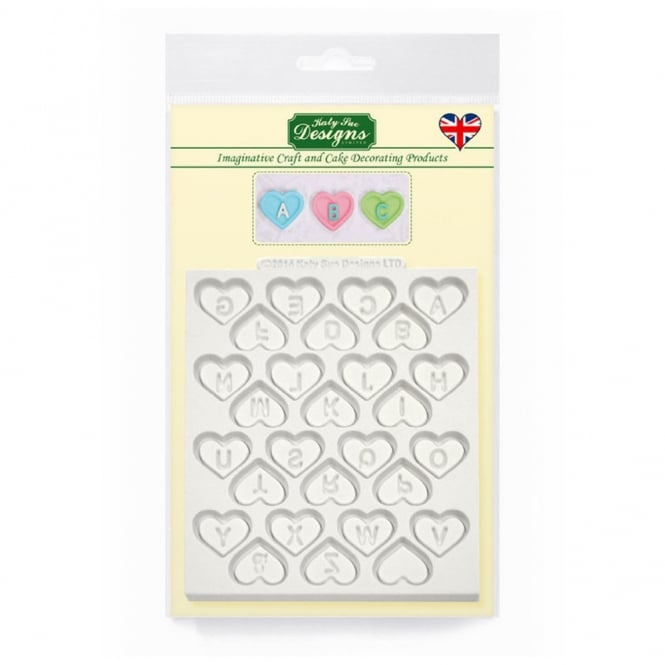 Katy Sue Designs Heart Alphabet Designer Mat