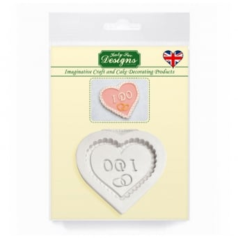 I Do Heart Decorative Plaque Mould