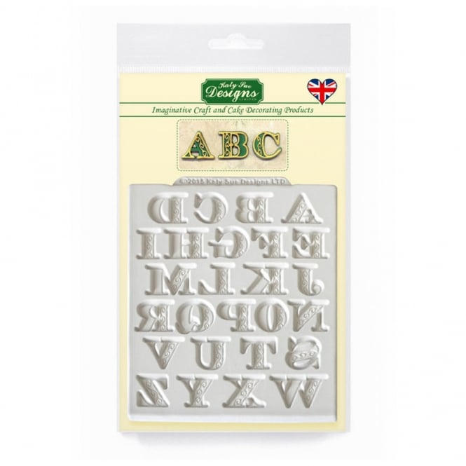 Katy Sue Designs Manuscript Alphabet Designer Mat