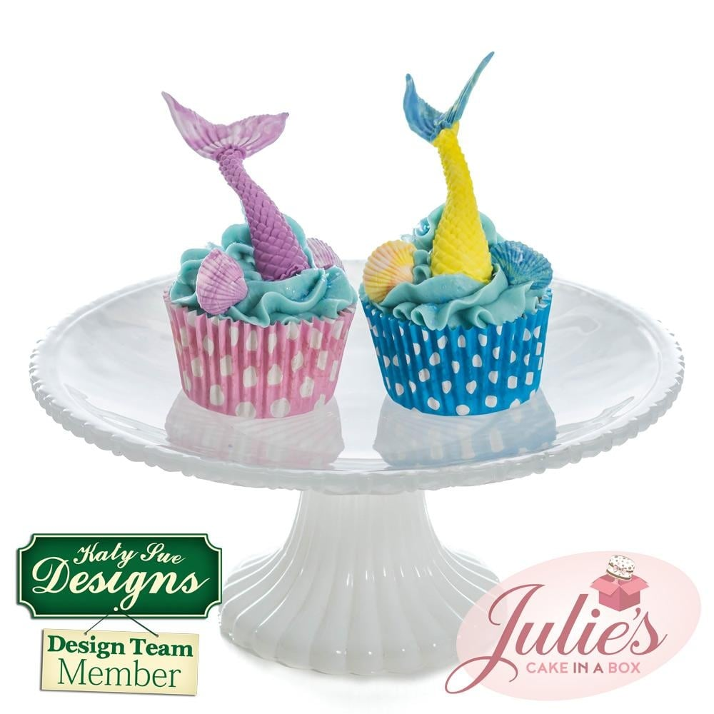 Cake Icing Decoration toppers Cupcake 4BG SEA CREATURES SEASIDE Silicone Mold