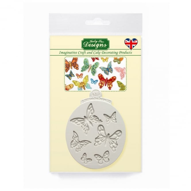 Katy Sue Designs Mini Butterflies Silicone Mould