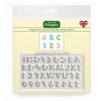Mini Domed Alphabet Mould