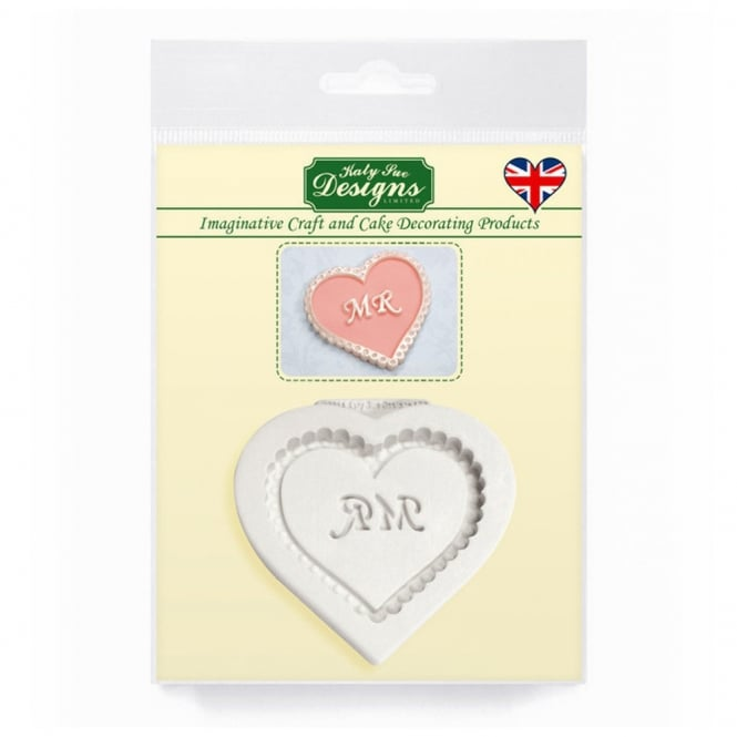 Katy Sue Designs Mr Heart Decorative Plaque Mould