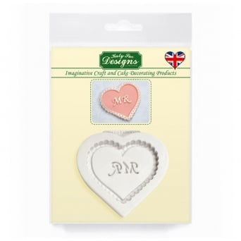 Mr Heart Decorative Plaque Mould
