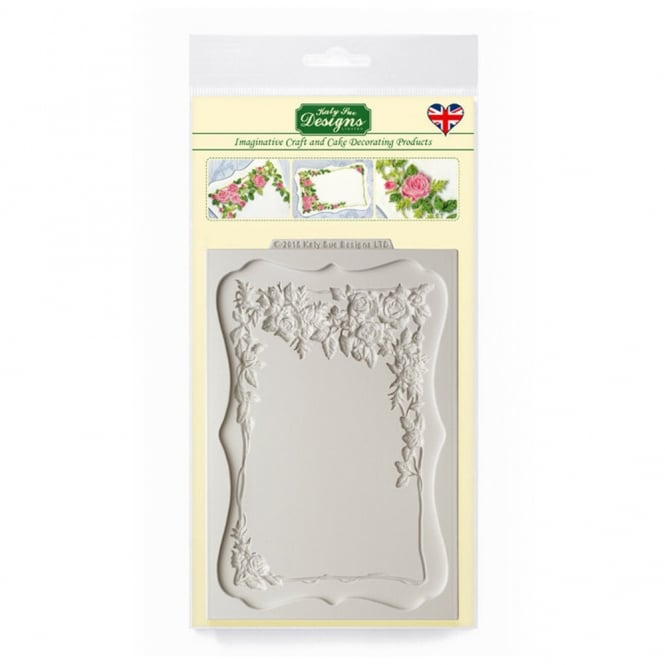 Katy Sue Designs Rose Border Plaque