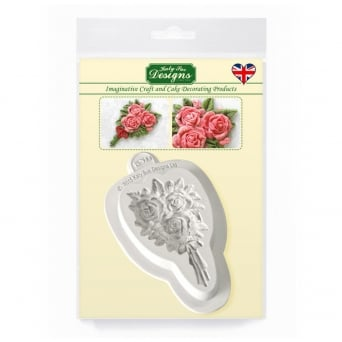 Rose Bouquet Embellishment Mould