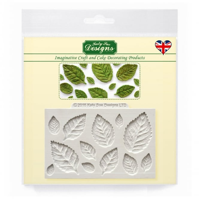 Katy Sue Designs Rose Leaves Mould