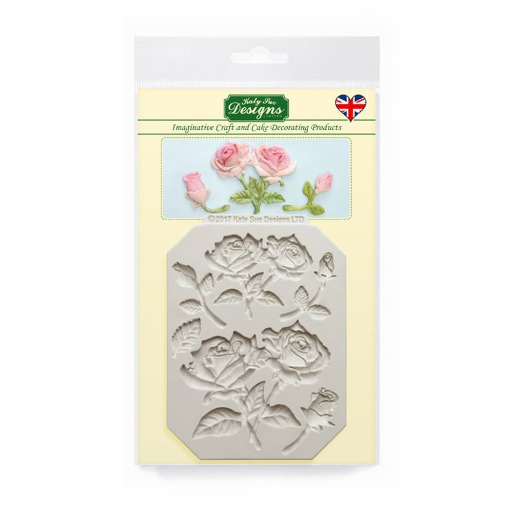 Katy Sue Designs Rose Stems And Silhouettes Mould - Tools ...