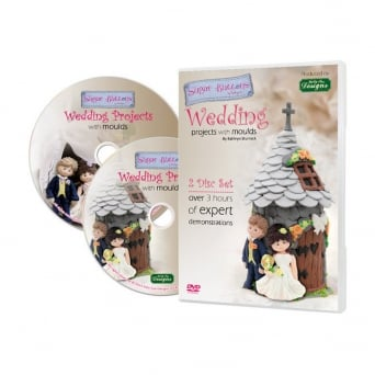 Sugar Buttons Wedding Projects With Moulds DVD