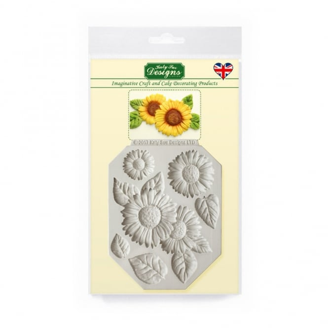 Katy Sue Designs Sunflowers Silicone Mould