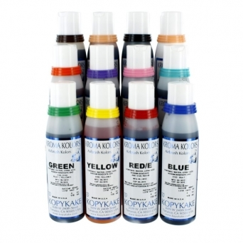 Airbrush Colours Set Of 12 4oz Bottles