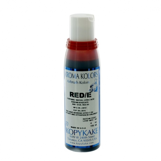 Kroma Red - Airbrush Colours 4oz