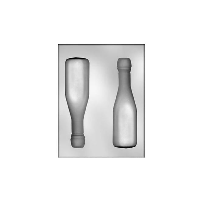 Large Champagne Bottle Chocolate Mould