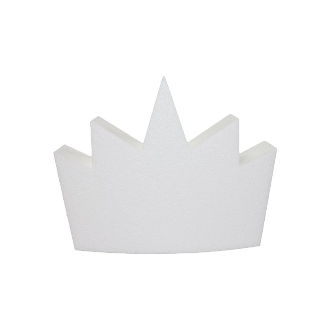 The Cake Decorating Co. Large Crown Cake Dummy