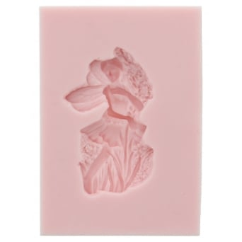 Lilac Heather Fairy Mould By Sunflower Sugar Art