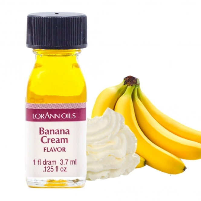 LorAnn Banana Cream - Oils - 1 Dram Food Flavouring Oils