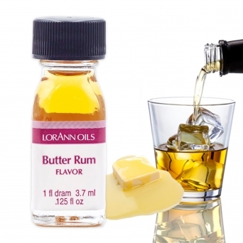 Butter Rum - LorAnn Oils - 1 Dram Food Flavouring Oils