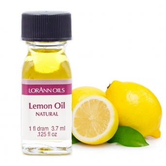 Lemon Oil Natural - LorAnn Oils - 1 Dram Food Flavouring Oils