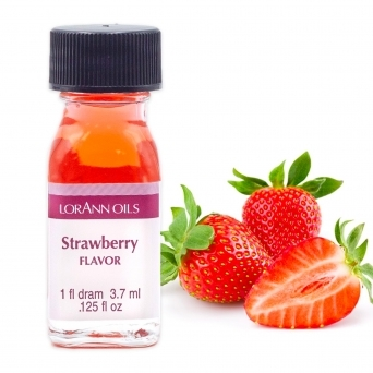 Strawberry - LorAnn Oils - 1 Dram Food Flavouring Oils