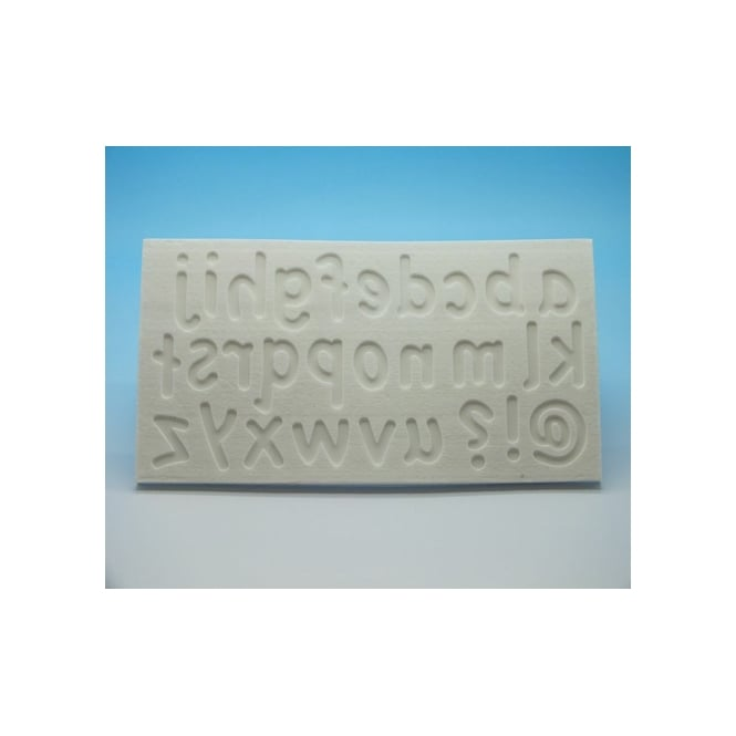 Tal Tsafrir Lower Case Letters Silicone Mould - Cakes