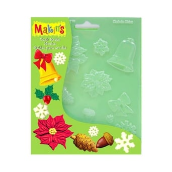 Christmas Nature Push Mould