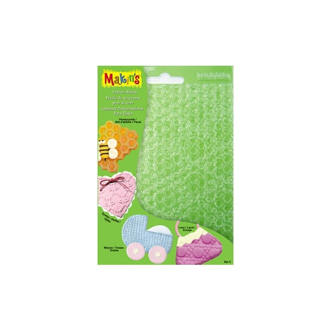 Makins Texture And Embossing Set C