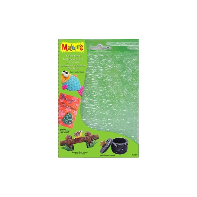 Makins Texture And Embossing Set D