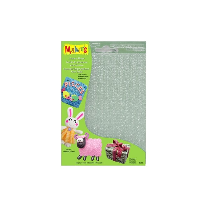 Makins Texture And Embossing Set E