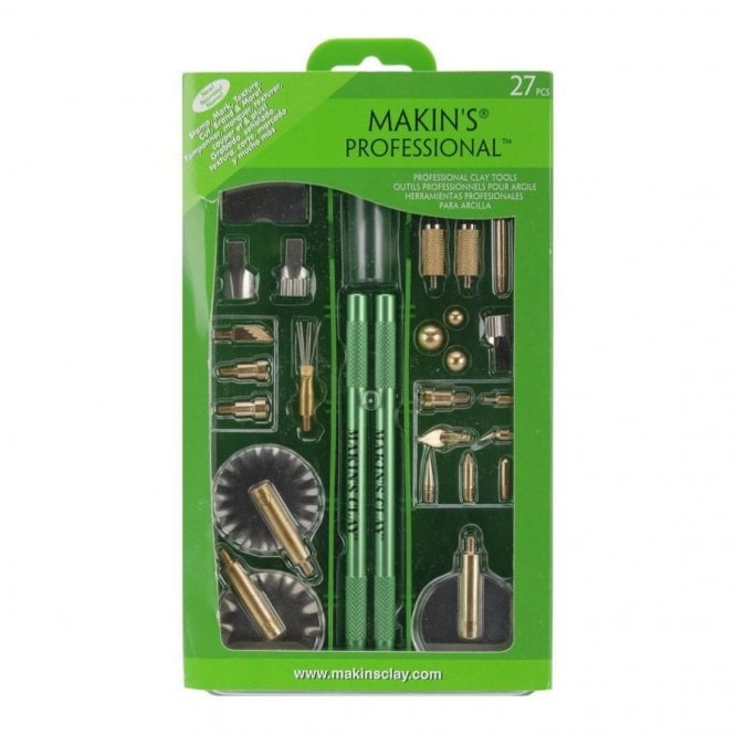 Makins Professional Clay Tools Set Of 27