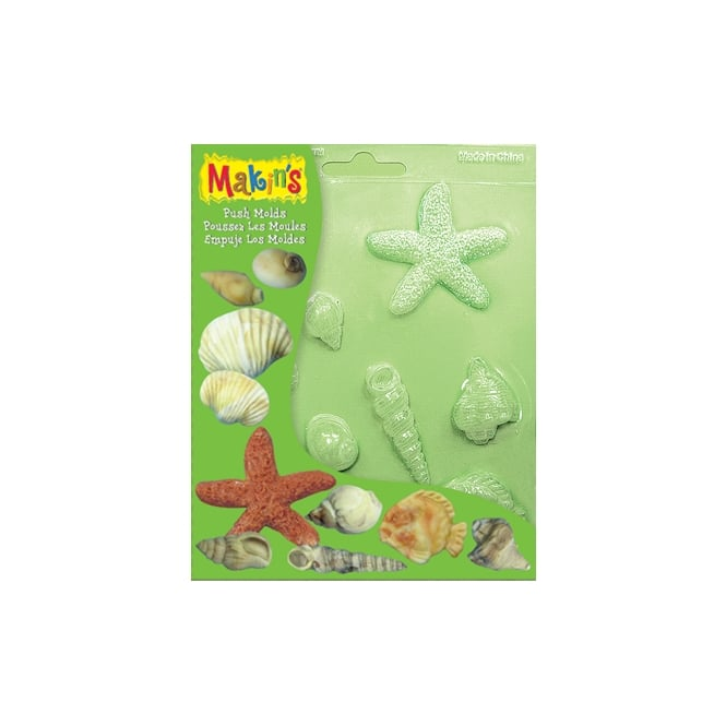Makins Sea Shells Push Mould