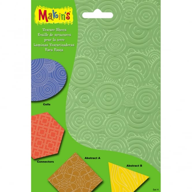 Makins Texture And Embossing Set H