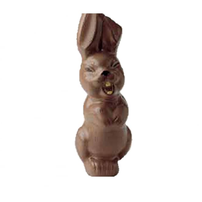 Martellato Laughing Bunny Chocolate Mould Holds 4 Chocolate Bunnies