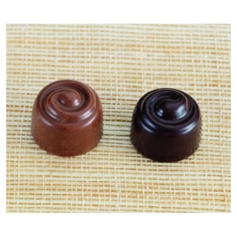 Swirl Polycarbonate Chocolate Mould