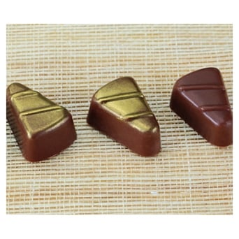 Triangular Polycarbonate Chocolate Mould